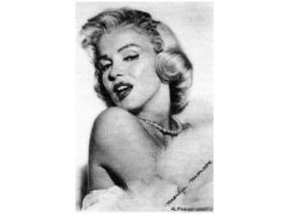 Victoria Ceramica Golden American Marilyn