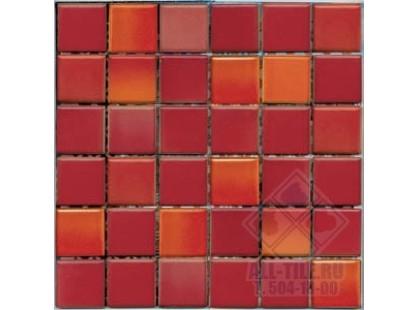 Vitra Colorline Glossy K511526 Colorline Red Mix 7 (5х5)