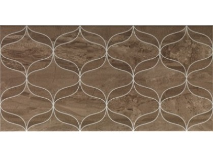 Vitra Ethereal 30x60 Soft Brown Lines Décor Glossy K928024
