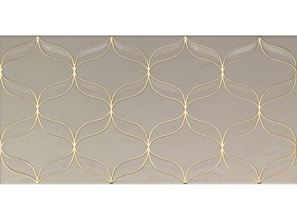 Vitra Ethereal 30x60 Geometric Décor L.Beige Glossy K927932