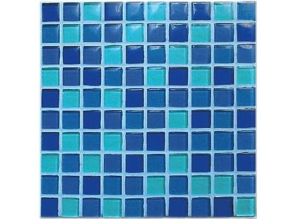 Vitrex Crystal-b MNO2 Azzurro Lucido Mix MFSKYGLOS 23,5x23,5 (MF5 Sky Glossy Mix (lucido)