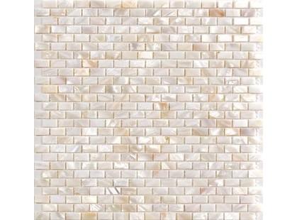 Vitrex Mosaico Perla Bianco 1x2