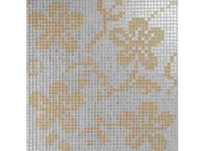 Vitrex Mosaico Tessuto Ibiscus A Oro/Argento 1x1 (из 4 шт.)