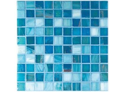 Vitrex Mosaico Vetroso G2 Azzurro Mix 2x2