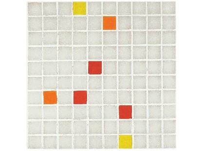Vitrex Mosaico Vetroso M3 Color Mix (Bianco Giallo/Arancio/Rosso)