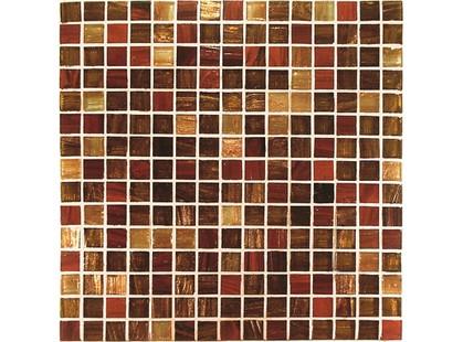 Vitrex Mosaico Vetroso V4380 Rosso/Ramato Mix 2x2