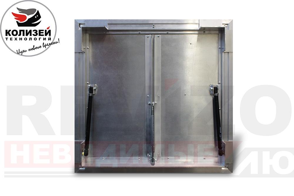 как установить revizor lift люк напольный 600х600 мм с амортизаторами